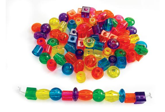Jumbo Translucent Beads - 1 lb.
