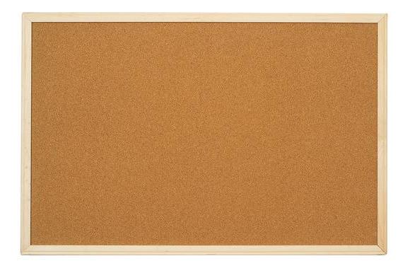 2' x 3' Hardwood Framed Cork Board