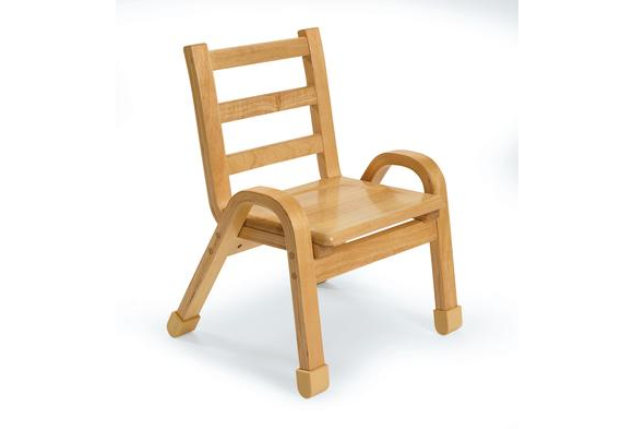 Angeles® NaturalWood™ Collection Chair - 7