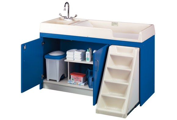 Ultimate Toddler Changing Table With Sink