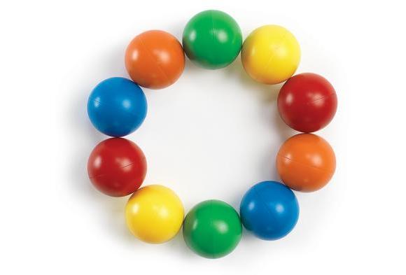 Jumbo Magnetic Marbles - Set of 10