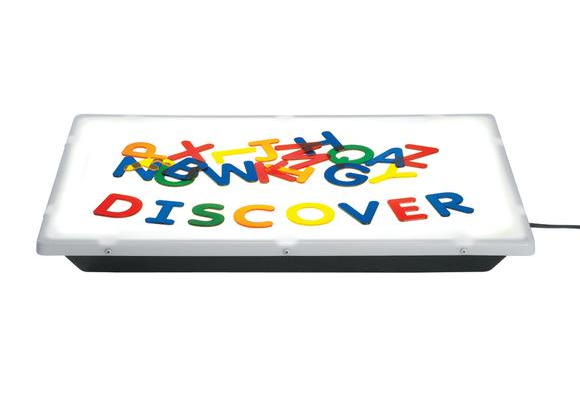 Excellerations® Light Table Translucent Letters - Set of 26