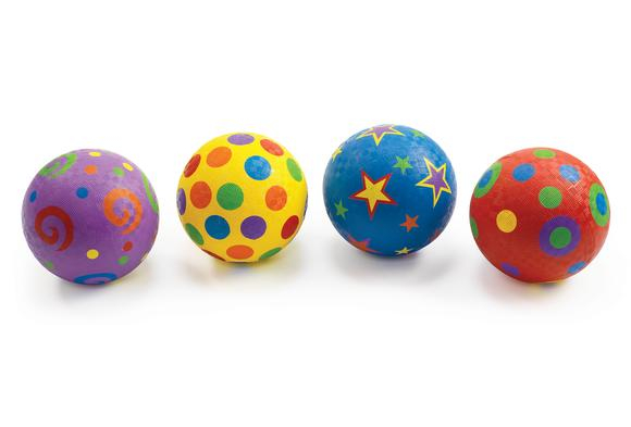 Excellerations® Whimsical Playground Balls - 5