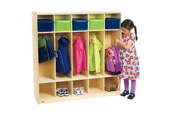 Assembled Storage Locker Discount School Supply