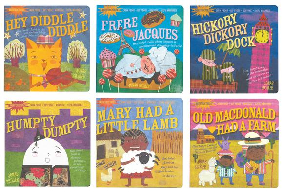 Indestructibles® Nursery Rhymes Books - 6 Titles