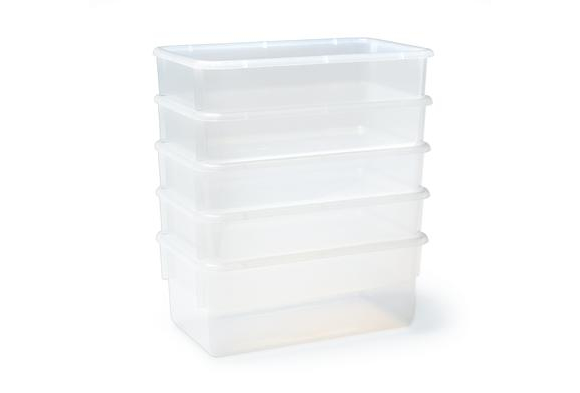 Value Line™ Birch Clear Trays 5 Pack