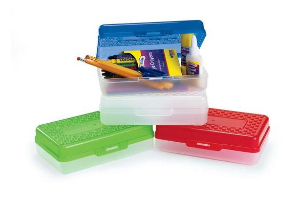 Plastic School Box