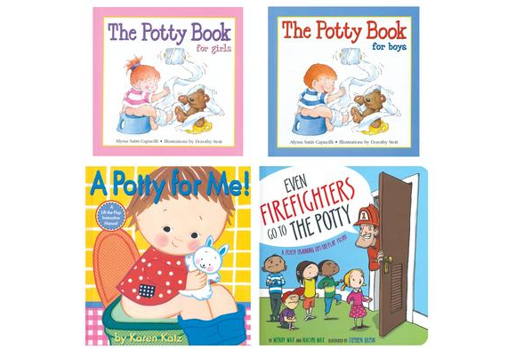 I Can Use the Potty Hardcover Books - Set of 4