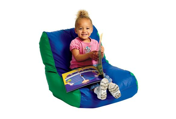 Toddler High-Back Beanbag Chair - Green/Blue  sc 1 st  Discount School Supply & Bean Bag Chair - Discount School Supply
