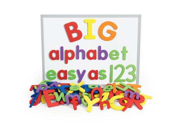 Excellerations® Giant Foam Magnetic Alphabet Letters & Numbers - 114 Pieces