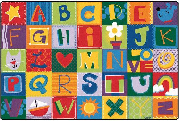 Toddler Alphabet Blocks Rectangle