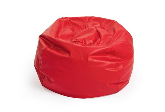 Red Deluxe Beanbag - 26