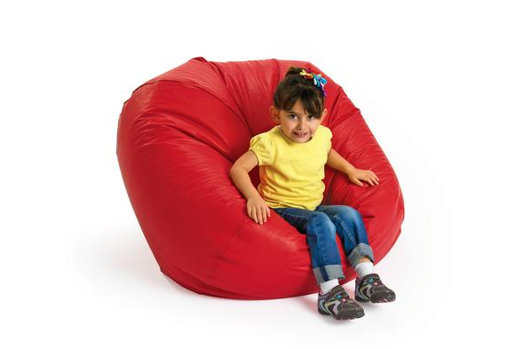 Red Deluxe Beanbag - 35