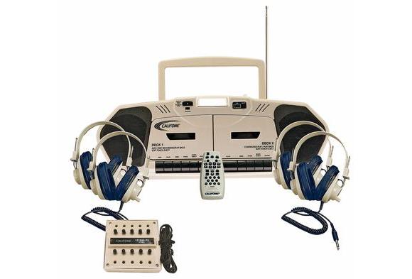 Califone® Music Maker™ Plus 4-Person Listening Center