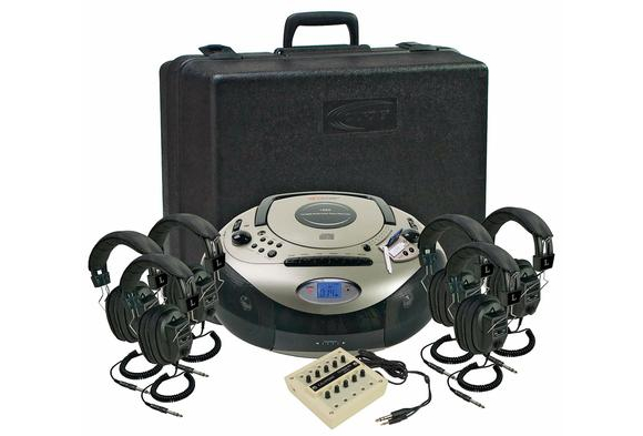 Califone® Spirit™ SD 6-Person Listening Center