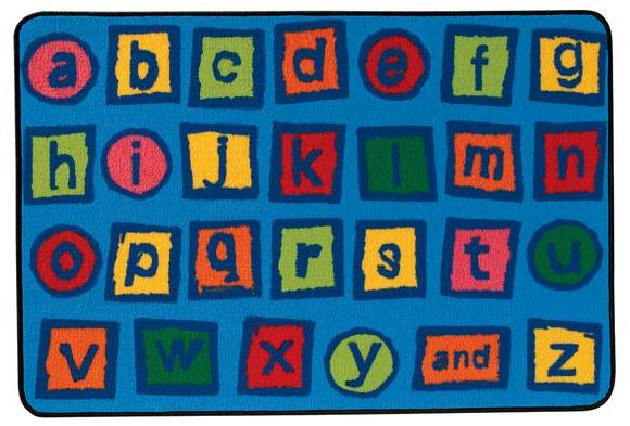 Alphabet Blocks Rug 48