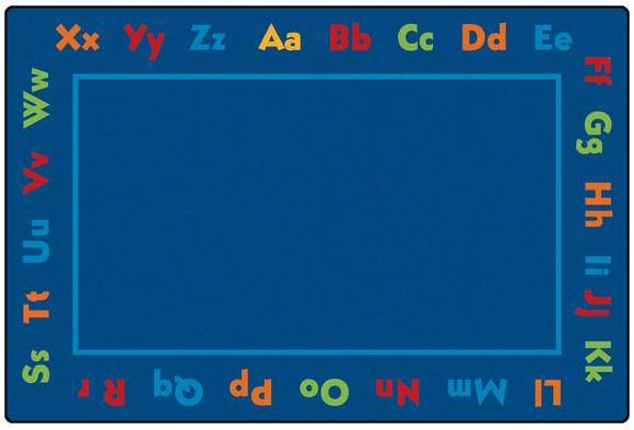 Alphabet ValuePLUS™ Rug - 6' x 9'
