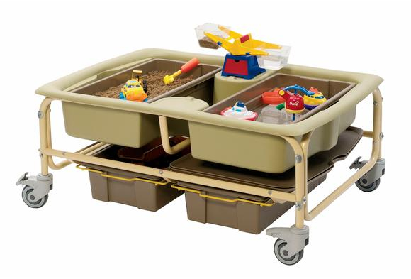 Earth Colors Sand and Water Table