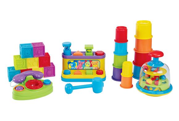 Baby's Big Toy Set - 18 Pieces