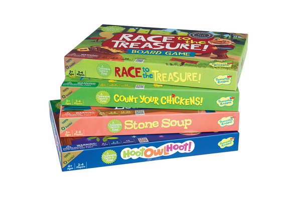 Cooperative Board Games Set of 4