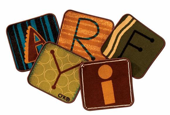 Toddler Alphabet Blocks Nature - 14