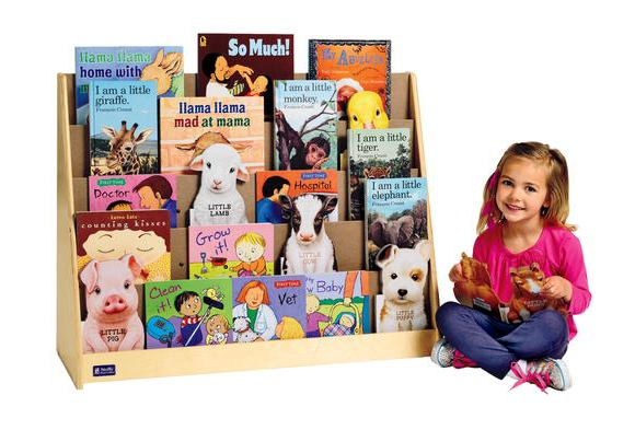 5-Shelf Book Display