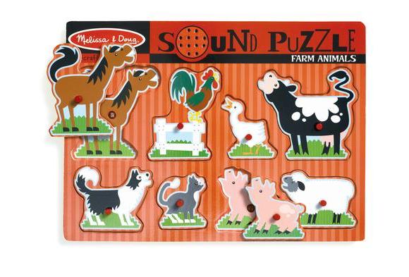 Sound Puzzle - Farm Animals