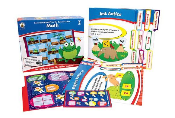 Math File Folder Games - Grade 2