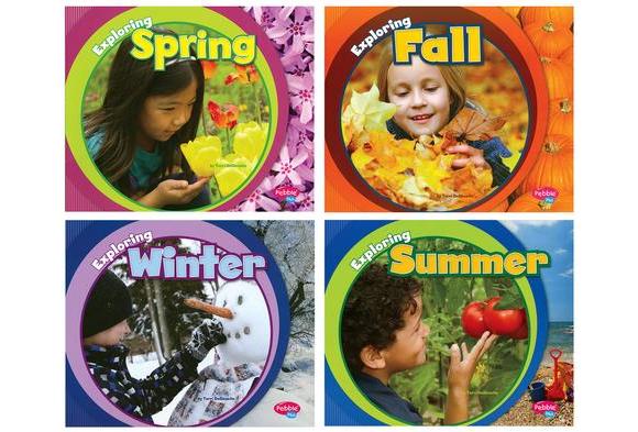 Exploring the Seasons Paperback Books - 4 Titles