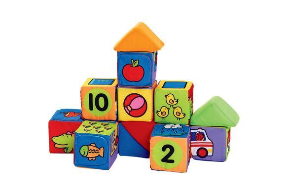 Match & Building Blocks - 14 Pieces