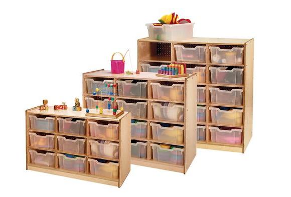 Storage Tray Cabinets