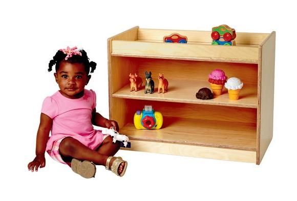 Toddler Manipulative Table & Storage Center