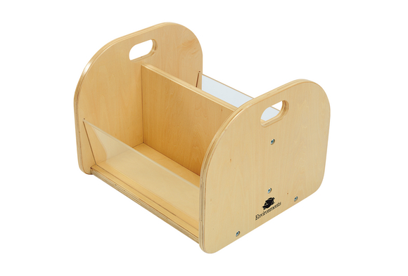Easy View Toddler Book Bin