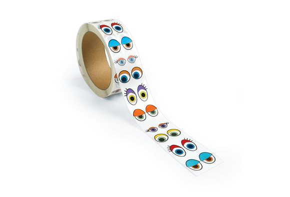 Colorations® Colorful Eye Stickers - 2,000 Pieces
