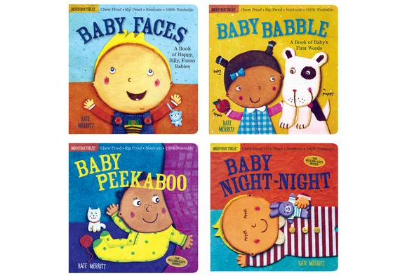 Indestructibles® Baby's 1st Words - 4 Titles