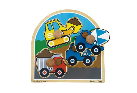 Jumbo Knob Puzzles - Construction