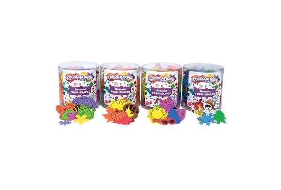Colorations® Seasons Foam Shapes - Set of 4