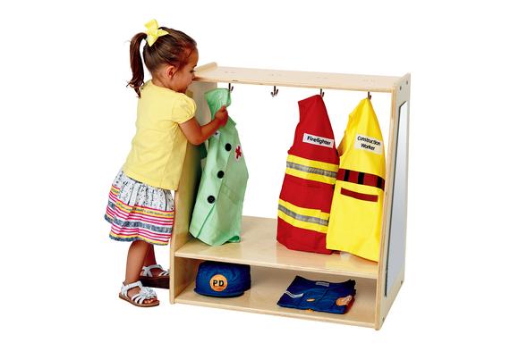 Angeles Value Line™ Birch Toddler Dress-Up Storage