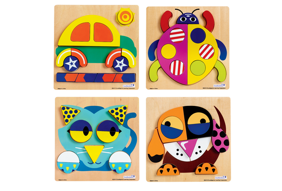 Excellerations® Creative Thinker Puzzles - Set of 4