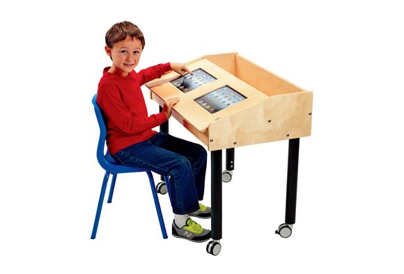 Double Wide Single Side Tech Table