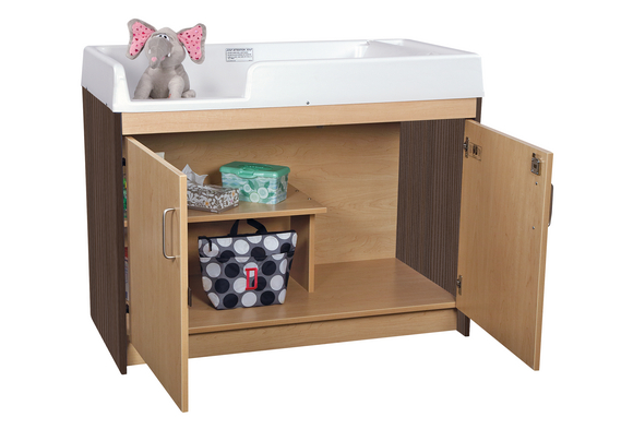 Two Tone Infant Changing Table