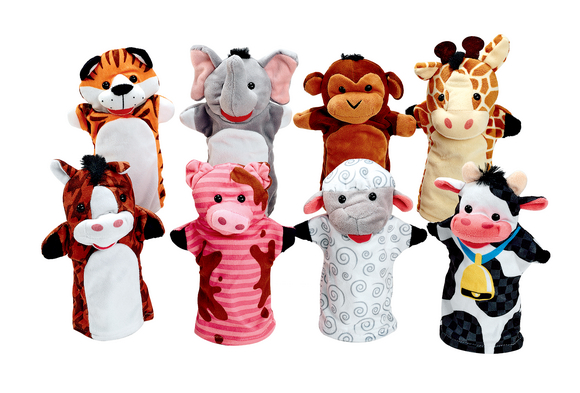 Toddler Hand Puppets - Set of 8