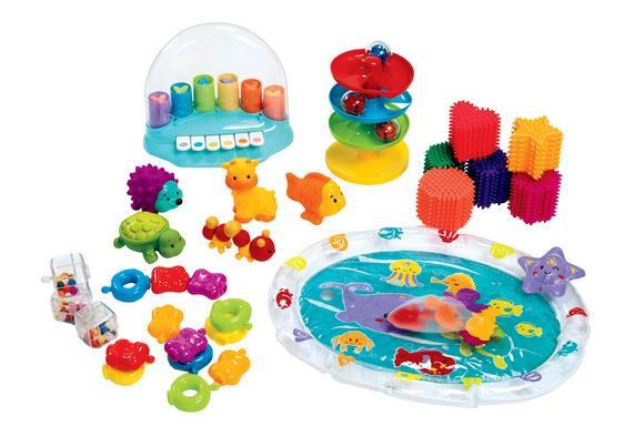 Baby Sensory Play Set - 37 Pieces