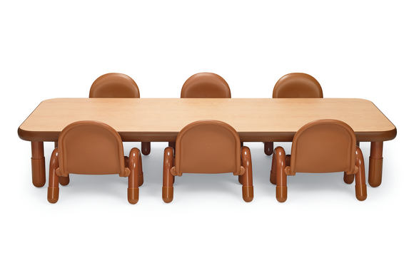 Angeles® BaseLine® Rectangular Toddler Table & Chair Set - 72