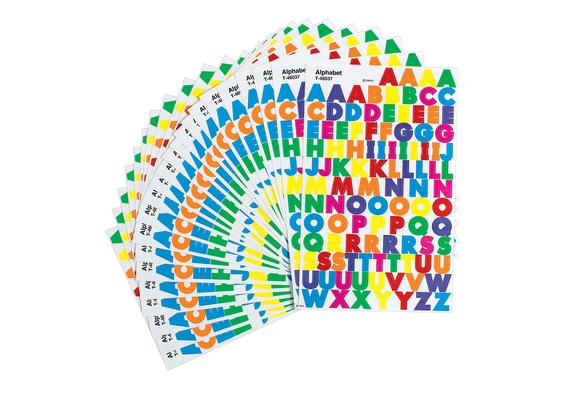Alphabet Stickers - 24 Sheets