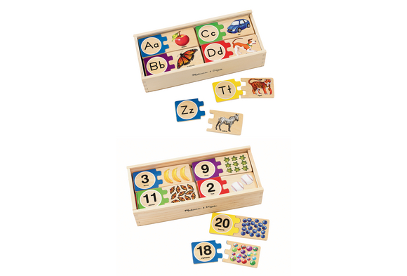 Self-Correcting Alphabet and Number Puzzles