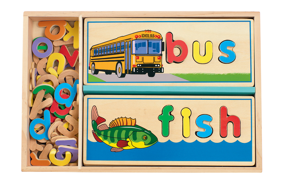 See and Spell Picture Puzzle