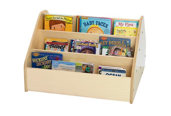 Toddler 2-Sided Storage & Book Display
