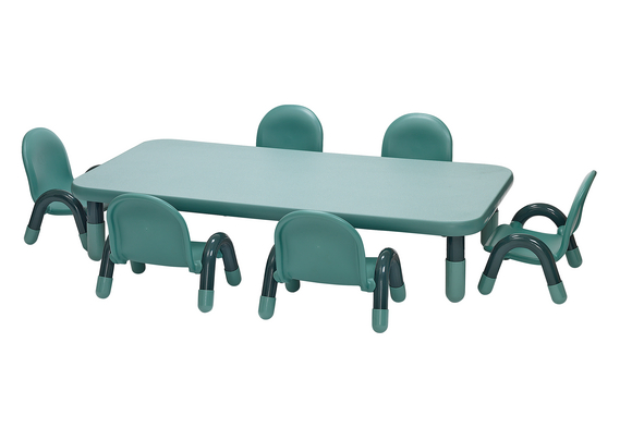Angeles® BaseLine® Rectangular Toddler Table & Chair Set - 60