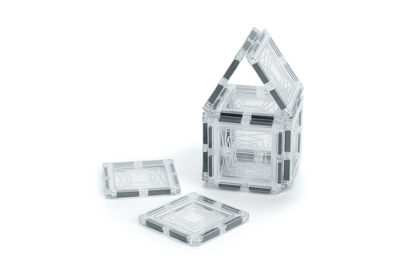 Excellerations® Building Brilliance® Magnetic Clear Squares - Set of 48